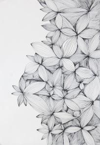 Hana (fleur) - 2016 - 30x40cm