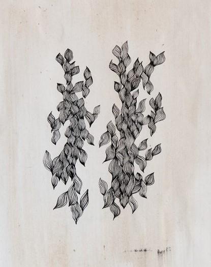Papyrus n°1 - 2013 - 30x40cm