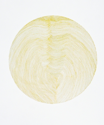 Lune d'or - 2017 - 40x50cm